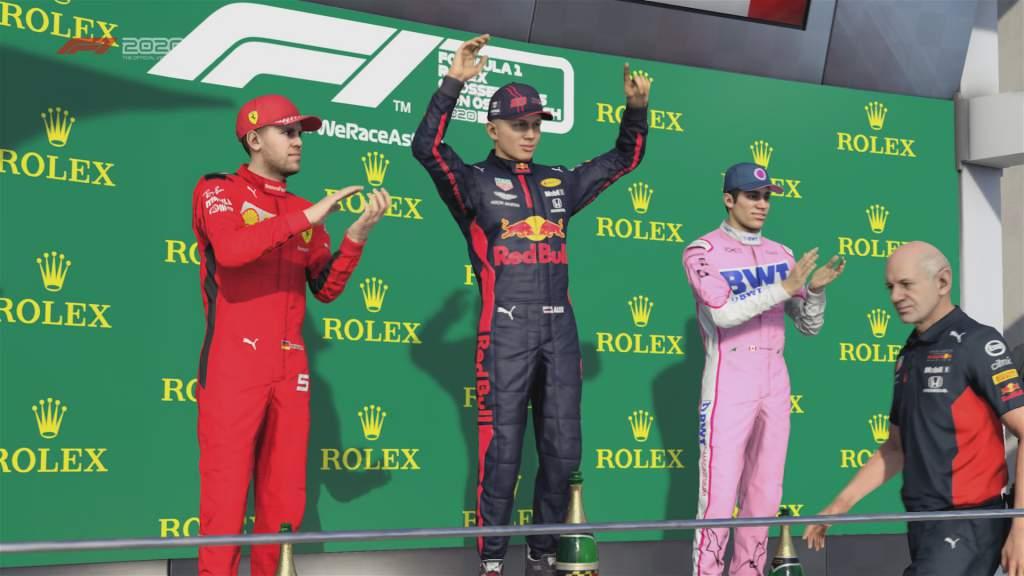 F1 2020 Austria Podium Pic