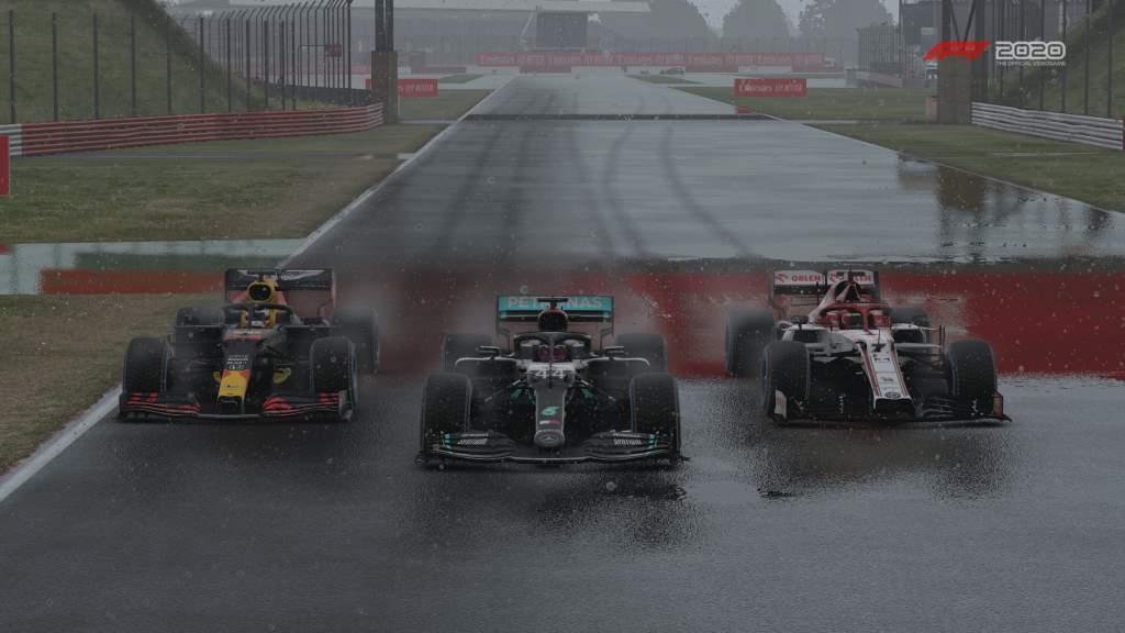 F1 2020 Britain Ham, Ver, Rai