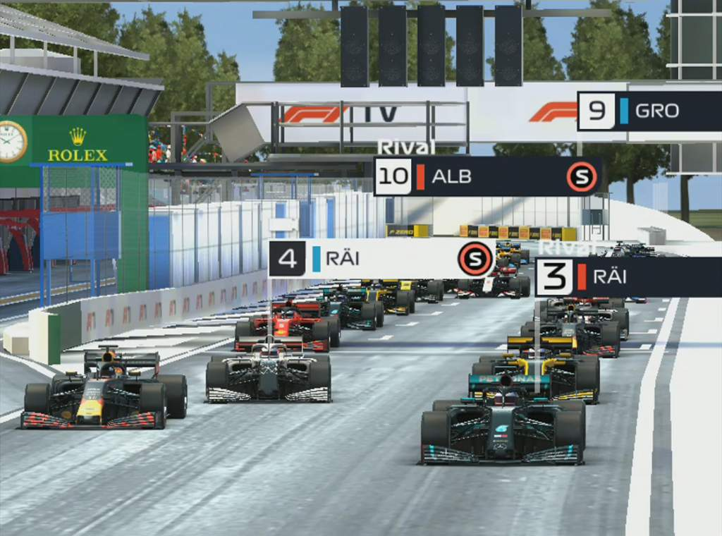F1 Manager Italy Race Start R