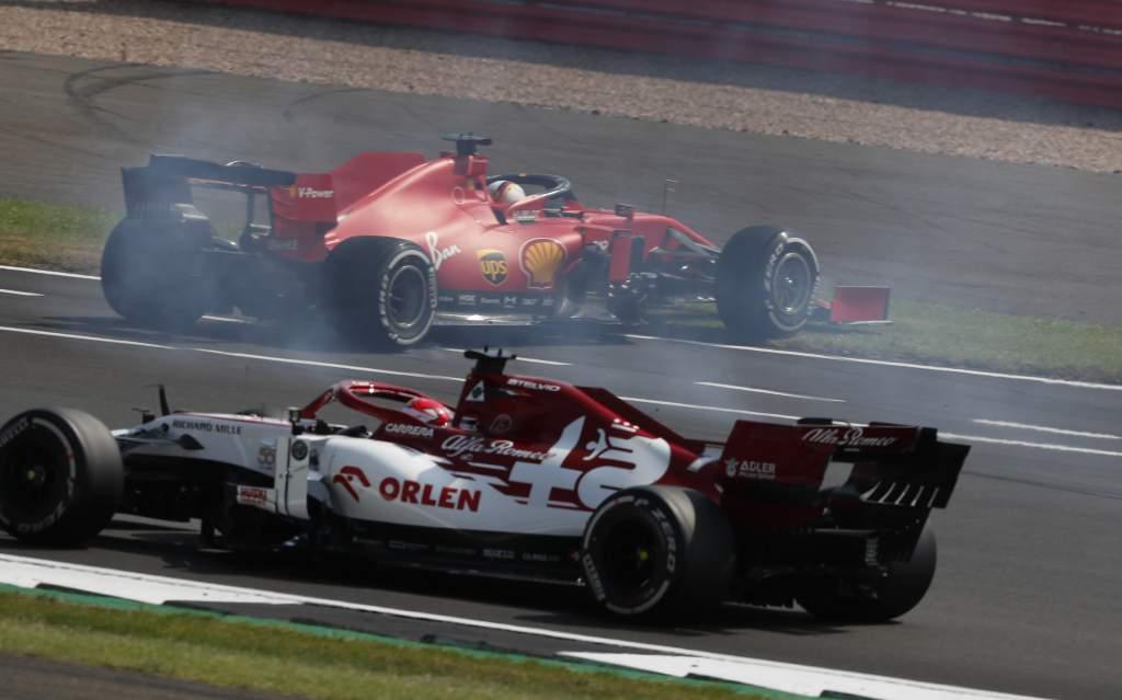 Motor Racing Formula One World Championship 70th Anniversary Grand Prix Race Day Silverstone, England