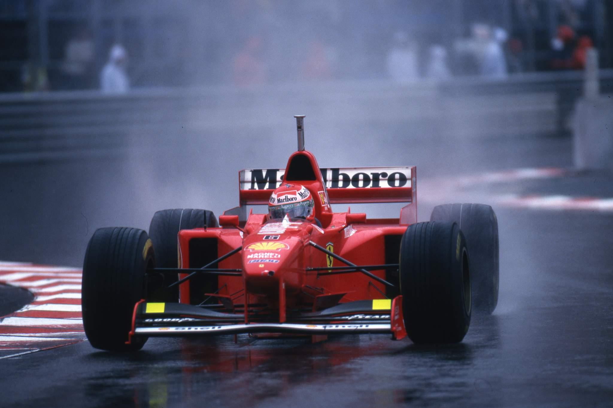Eddie Irvine Ferrari Monaco Grand Prix 1997