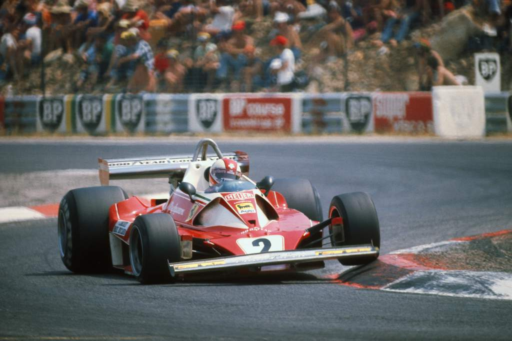 Clay Regazzoni Ferrari French Grand Prix 1976 Paul Ricard