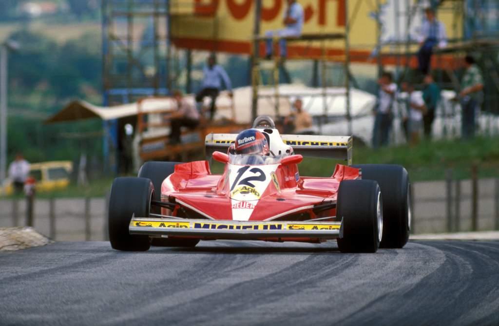 Gilles Villeneuve Ferrari South African Grand Prix 1978 Kyalami