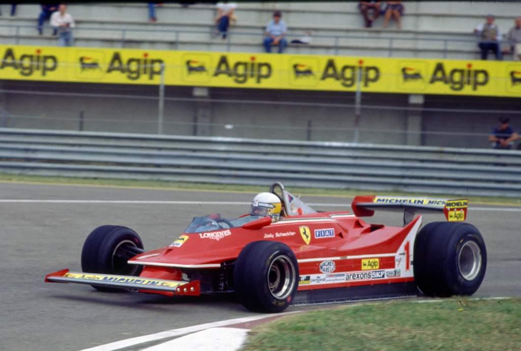 Jody Scheckter Ferrrari Italian Grand Prix Imola (ita) 12 14 09 1980