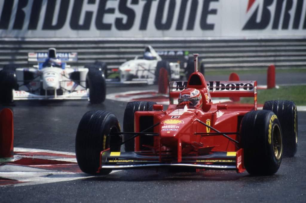 Eddie Irvine Ferrari Belgian Grand Prix Spa Francorchamps (bel) 22 24 08 1997
