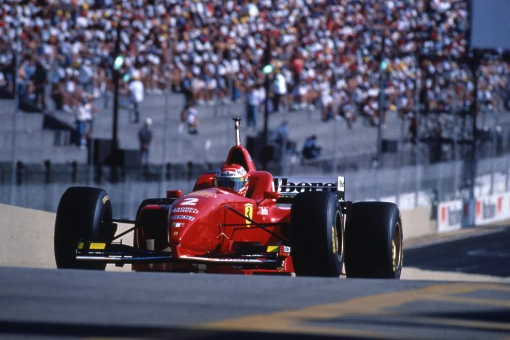 Eddie Irvine Ferrari Brazilian Grand Prix Interlagos (bra) 29 31 03 1996