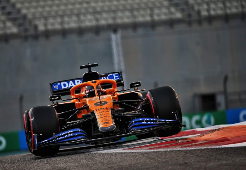 Carlos Sainz Jr McLaren F1 2020