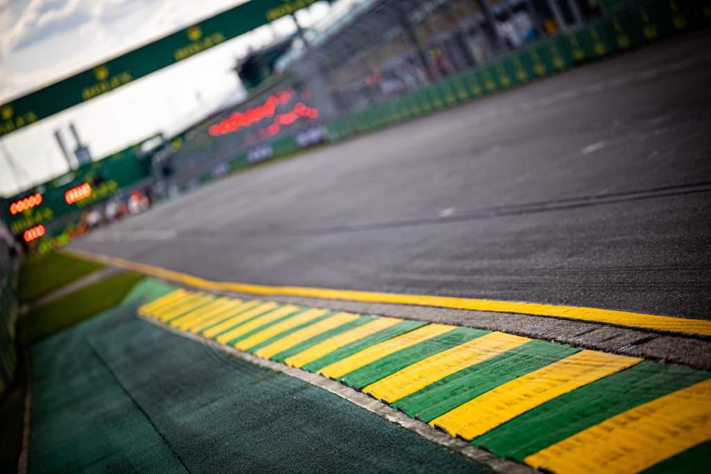 Melbourne F1 track