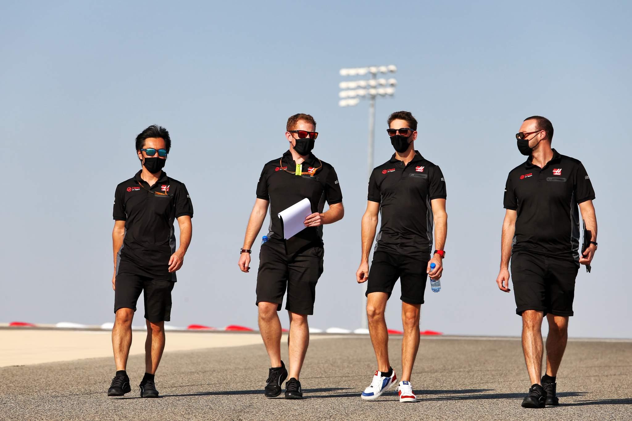 Motor Racing Formula One World Championship Bahrain Grand Prix Preparation Day Sakhir, Bahrain