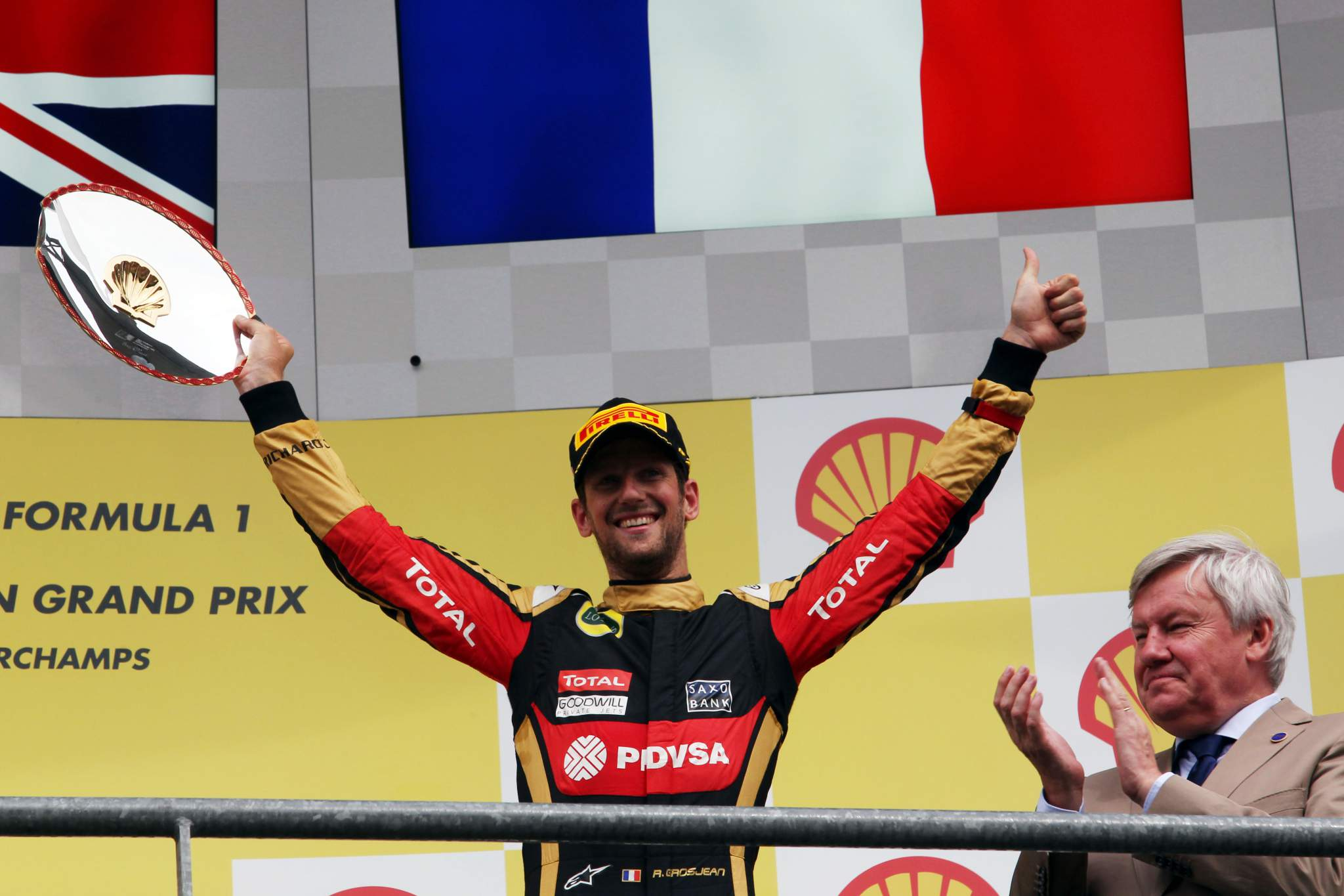 Motor Racing Formula One World Championship Belgian Grand Prix Race Day Spa Francorchamps, Belgium