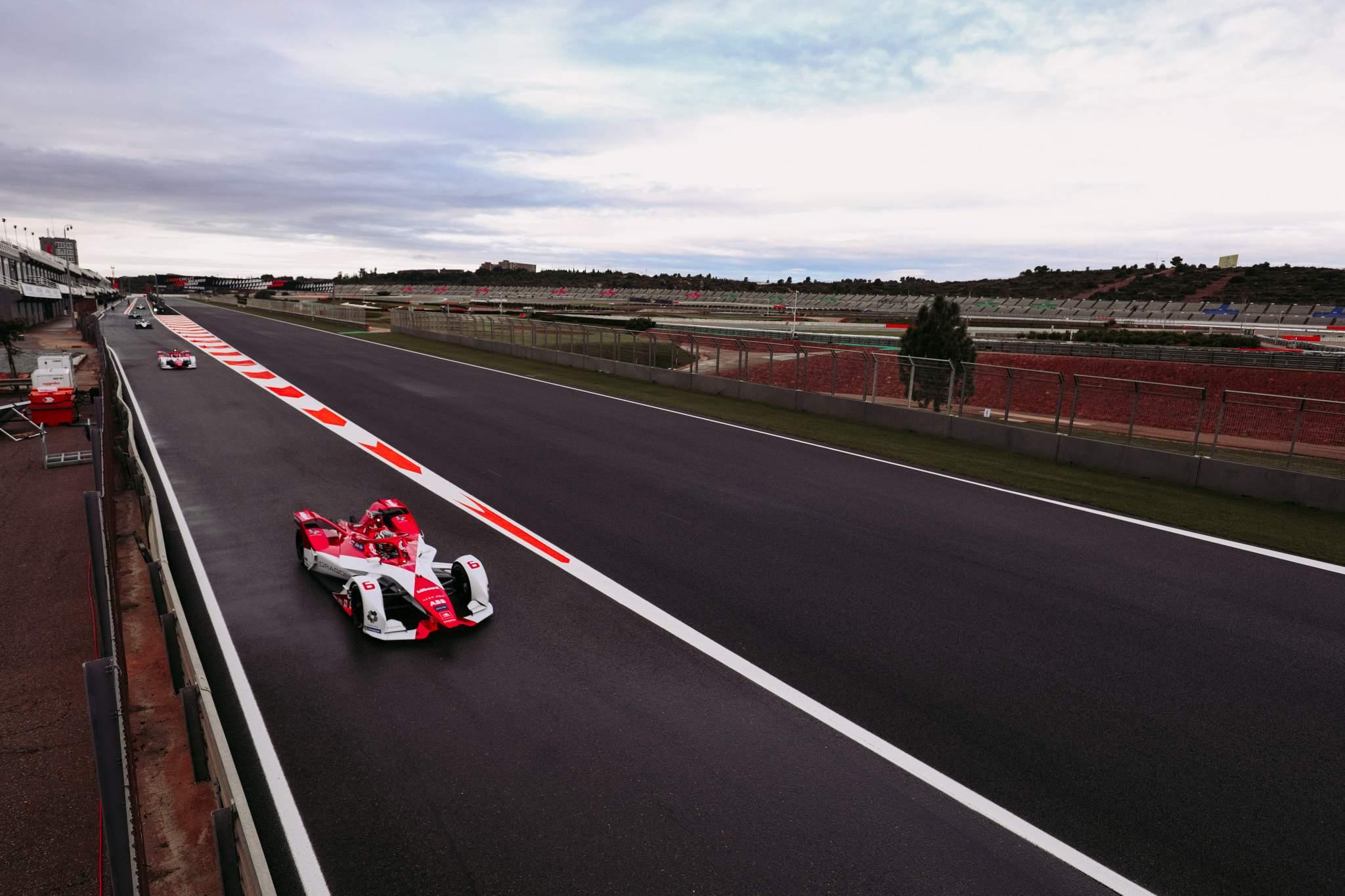 Nico Mueller Dragon Valencia Formula E test 2020