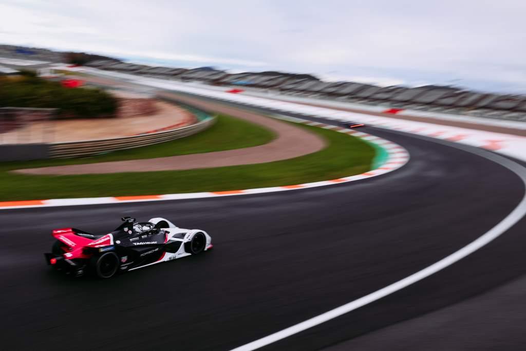 Andre Lotterer Porsche Valencia Formula E test 2020
