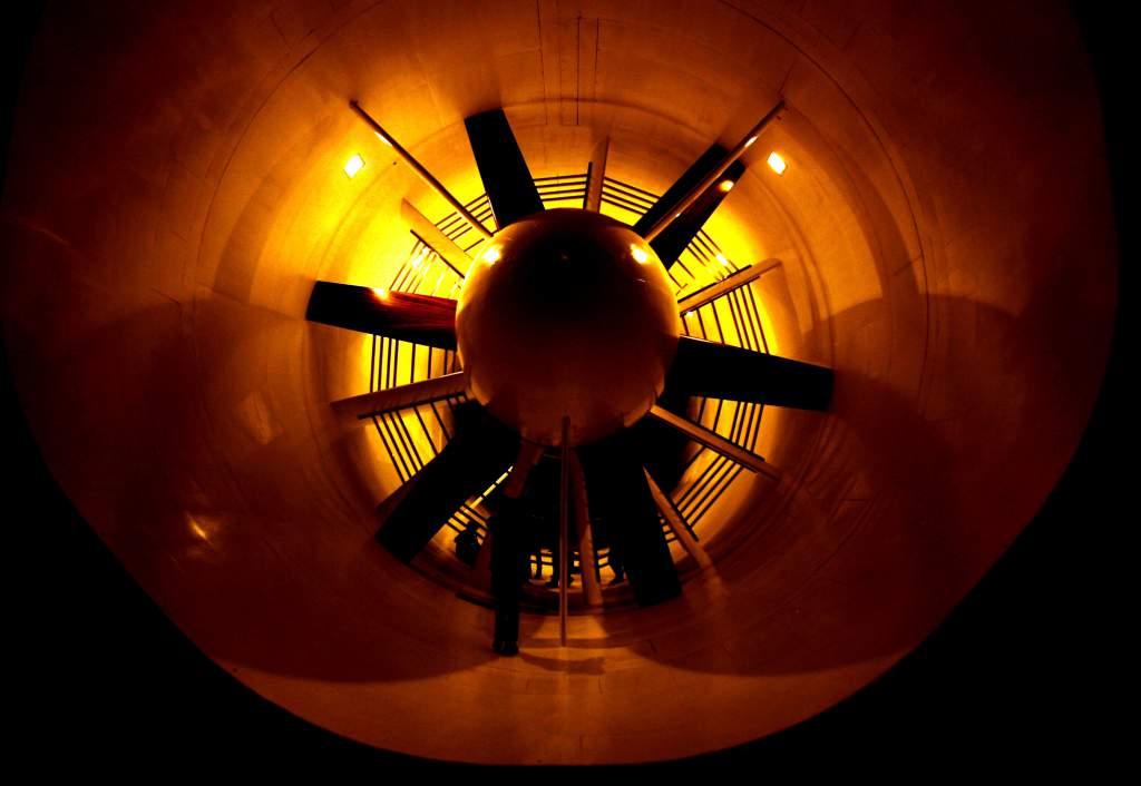 Red Bull F1 wind tunnel