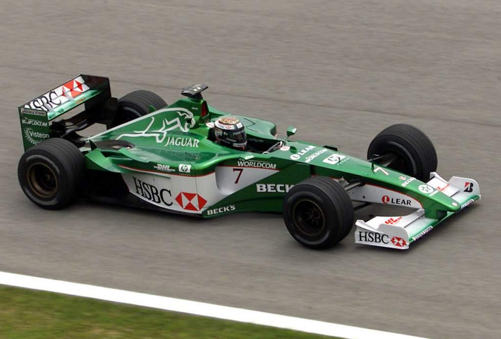 Jaguar F1 Eddie Irvine 2000