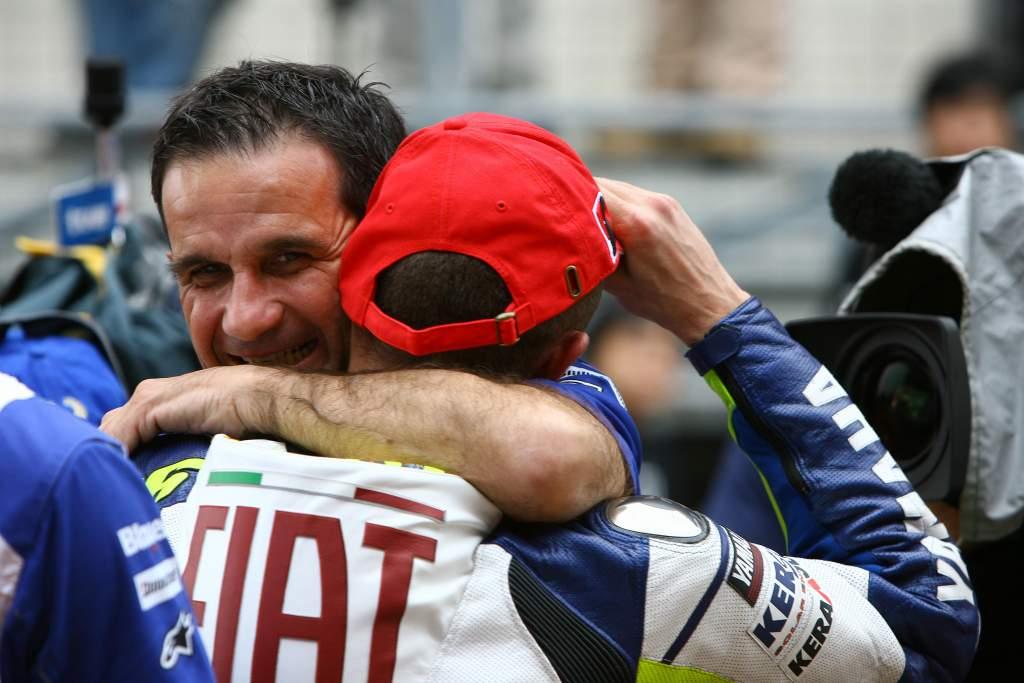 Davide Brivio Valentino Rossi Yamaha MotoGP
