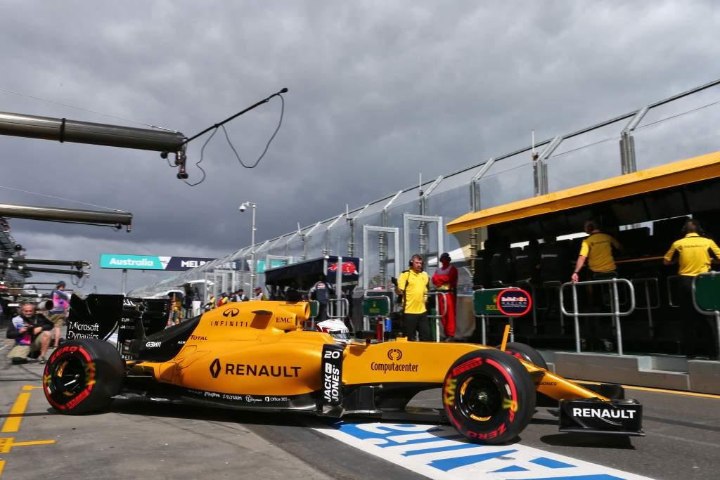 Kevin Magnussen Renault Australian Grand Prix 2016 Melbourne