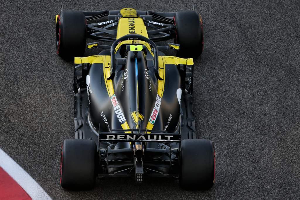 Esteban Ocon Renault Abu Dhabi Grand Prix 2020