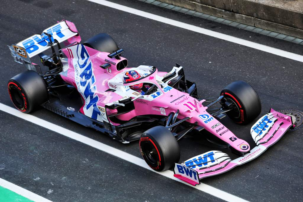 Sergio Perez Racing Point F1