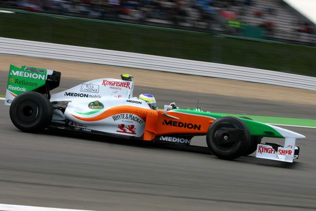 Giancarlo Fisichella Force India F1