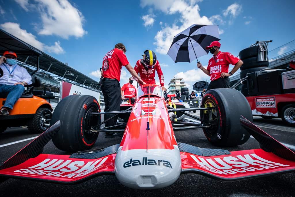 Marcus Ericsson Ganassi Indycar Indy
