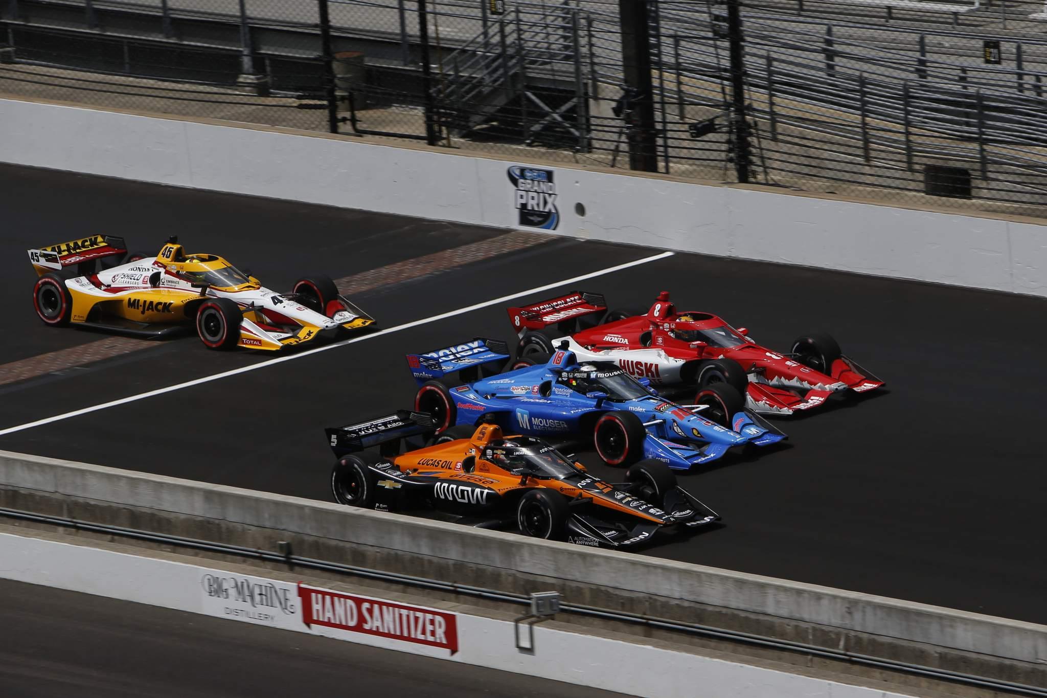 O'ward Ferrucci Ericsson Indycar