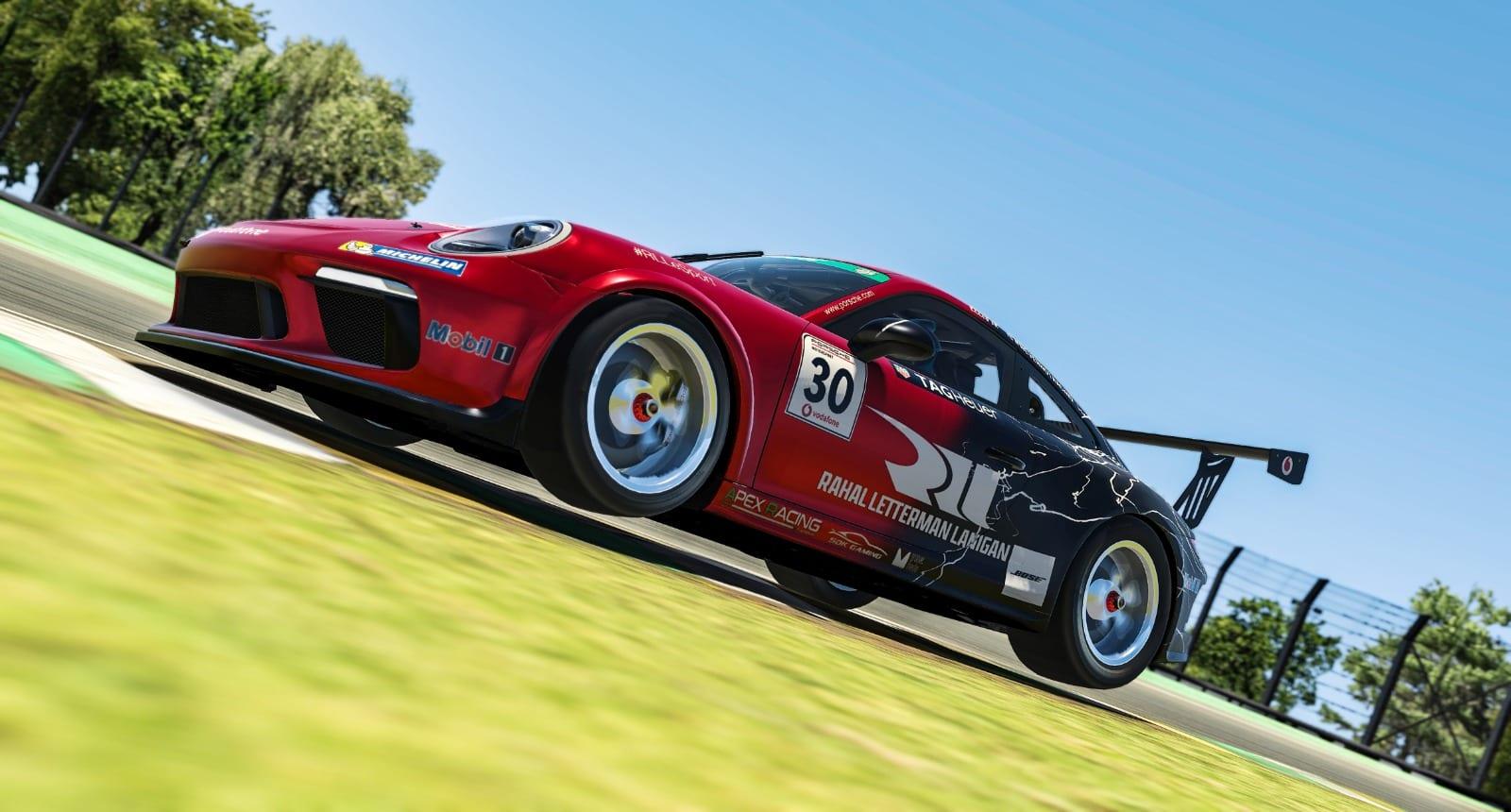 Porsche Esports 2021 R1 Ellis Jr Pic