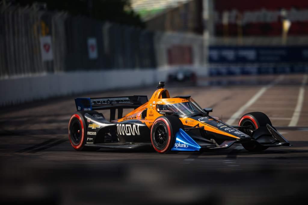 Button McLaren IndyCar 2020