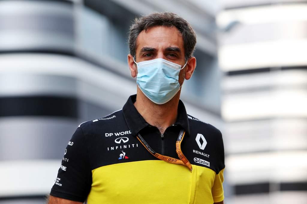 Cyril Abiteboul Renault F1