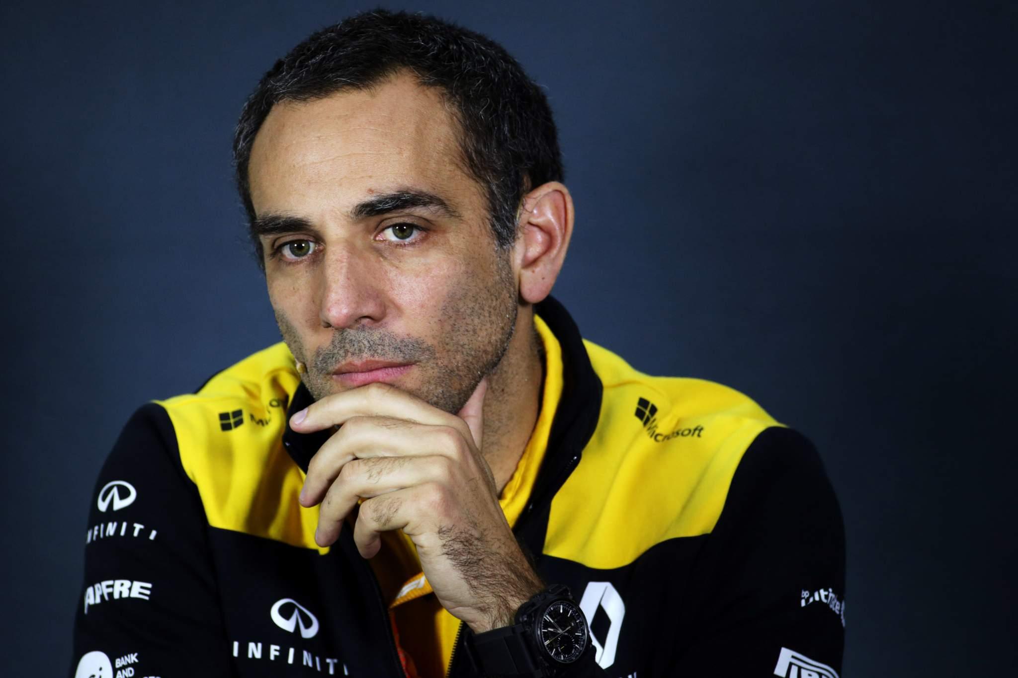 Cyril Abiteboul F1 Renault