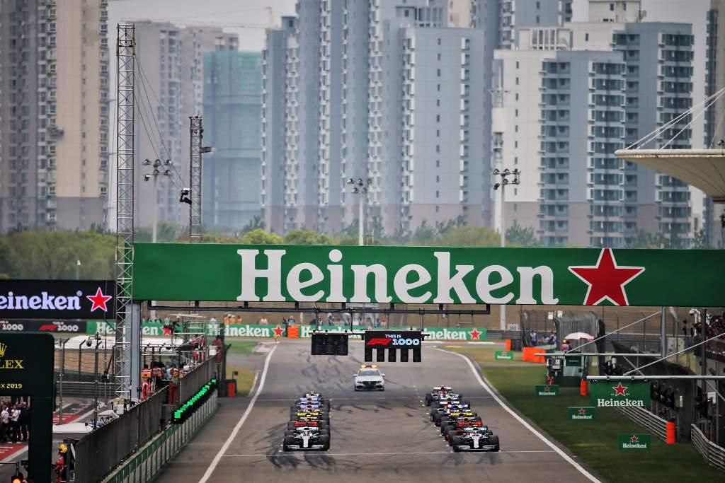 F1 Chinese GP start