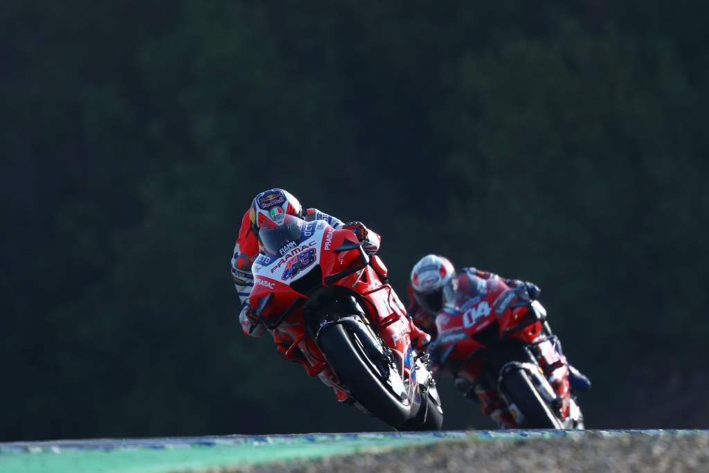 Jack Miller Andrea Dovizioso Ducati MotoGP