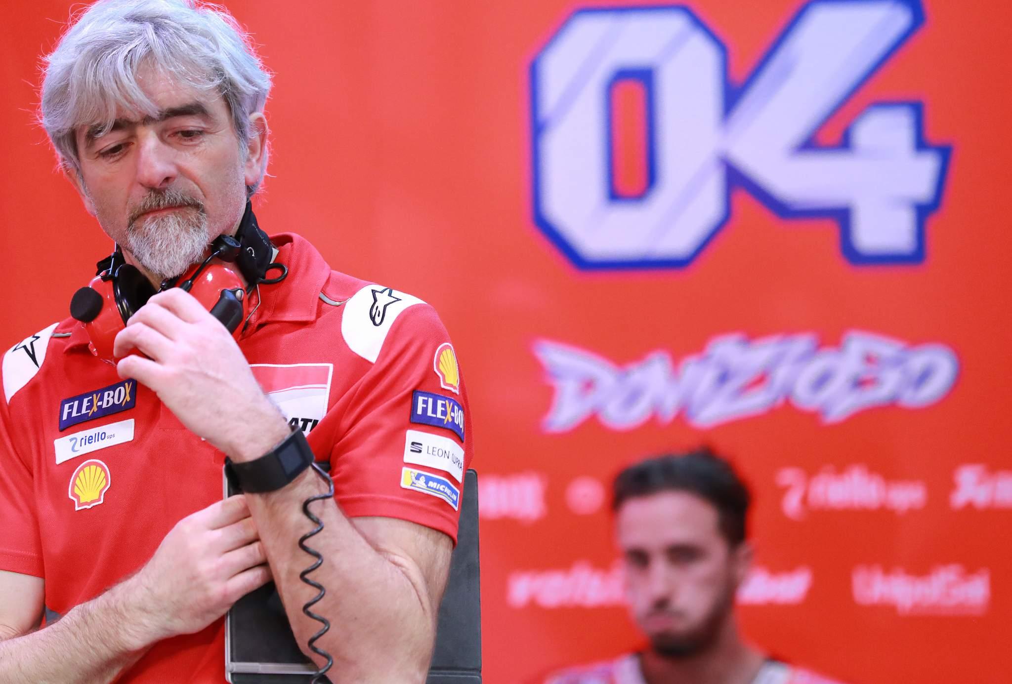 Gigi Dall'Igna Andrea Dovizioso Ducati MotoGP