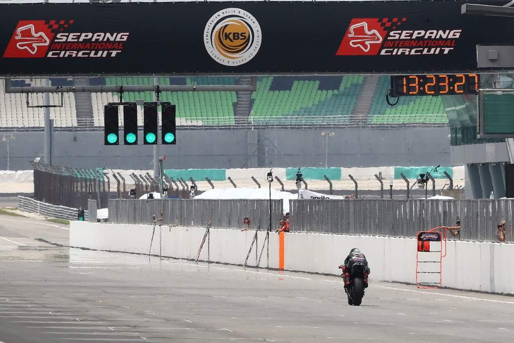 Fabio Quartararo Petronas Yamaha Sepang MotoGP