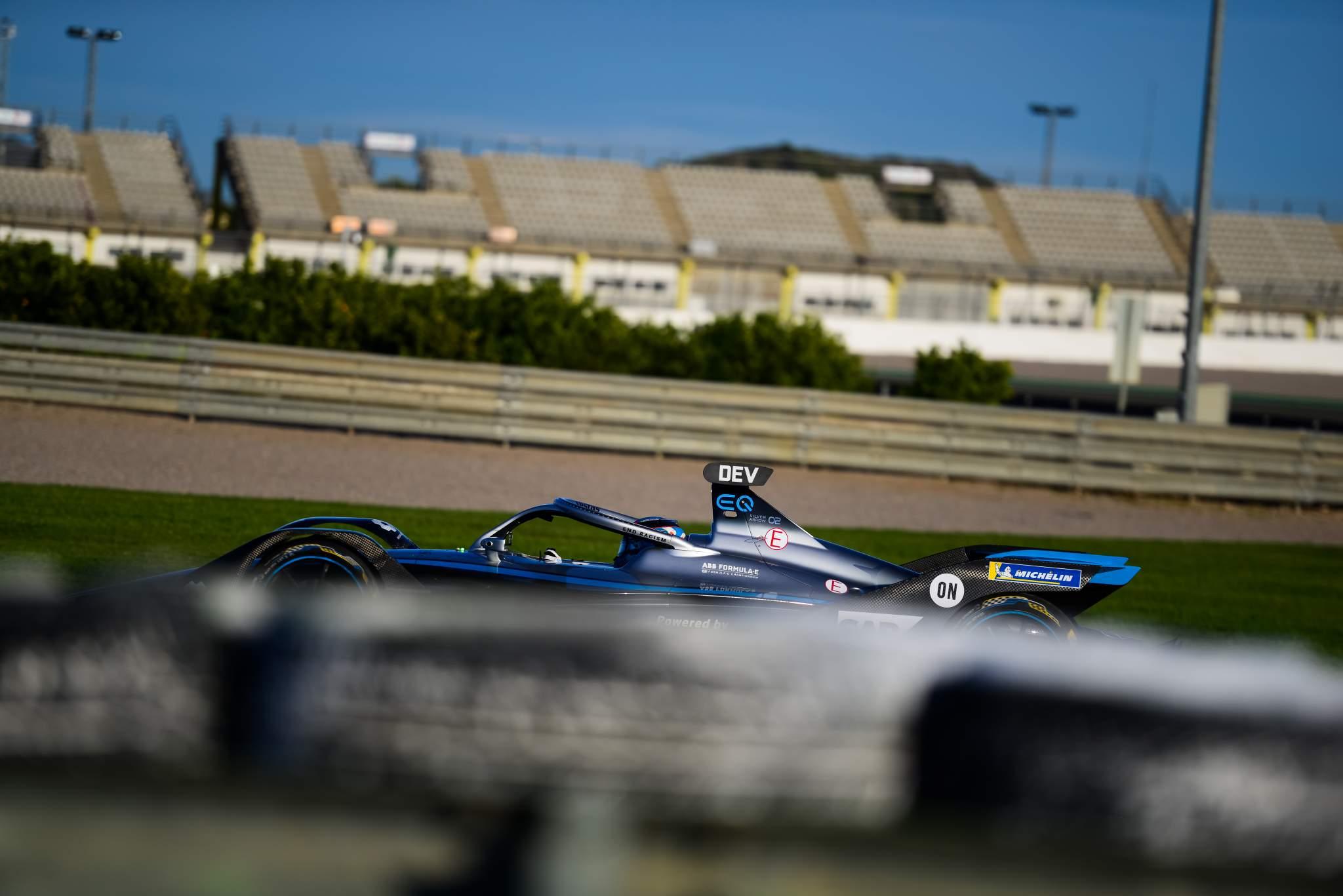 Nyck de Vries Mercedes Valencia Formula E testing 2020