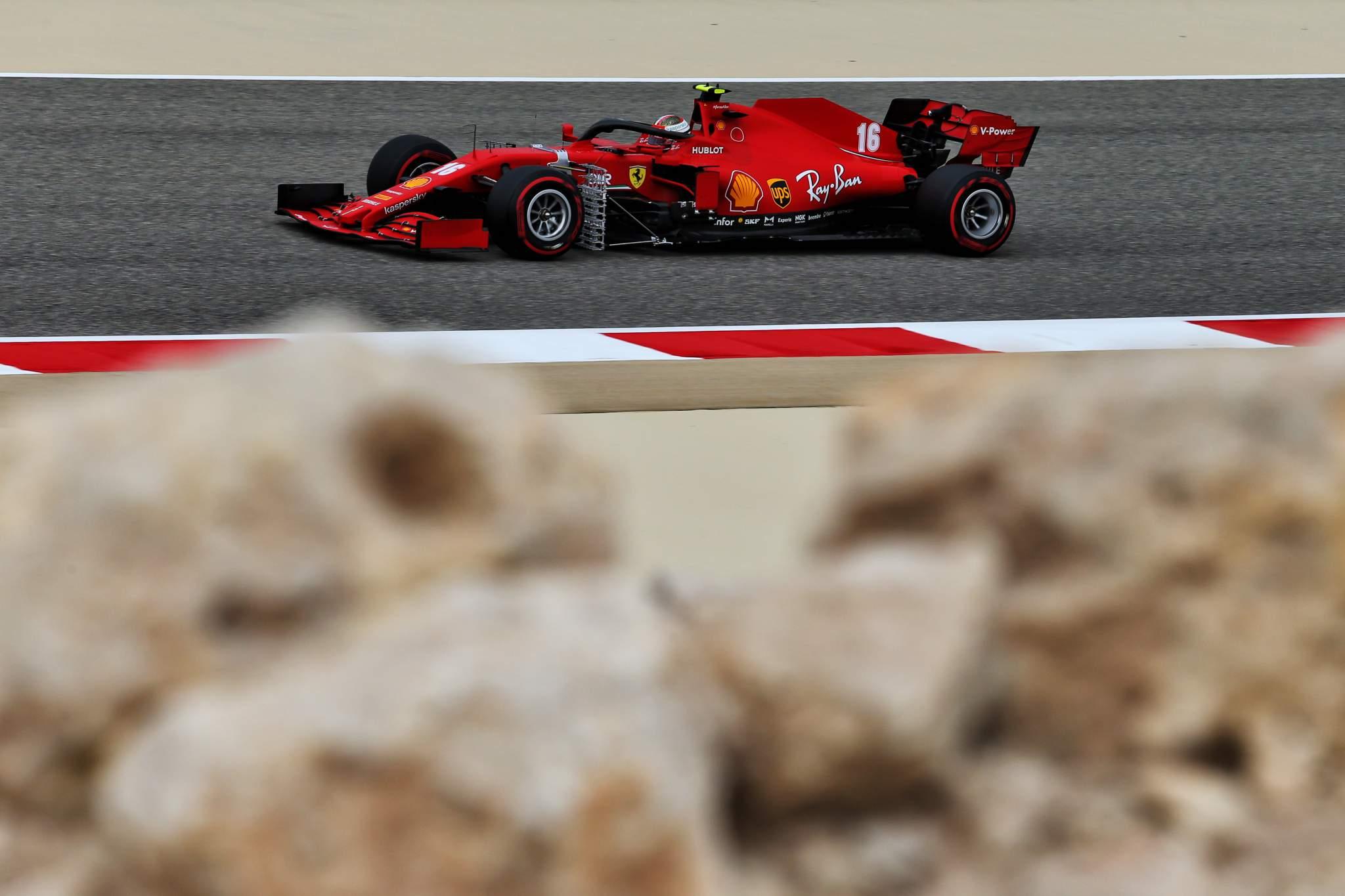 Motor Racing Formula One World Championship Bahrain Grand Prix Practice Day Sakhir, Bahrain