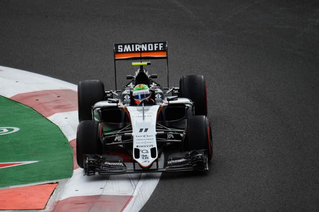 Sergio Perez Force India F1