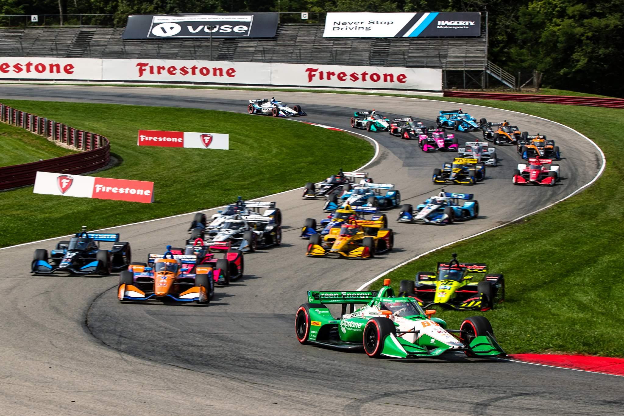 Ntt Indycar Series Honda Indy 200 At Mid Ohio