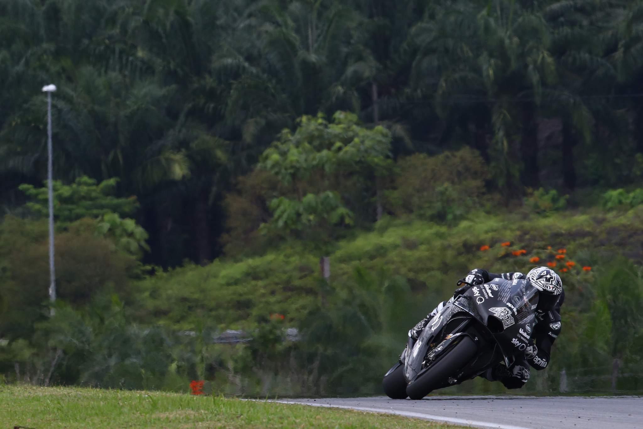 Aleix Espargaro Aprilia Sepang MotoGP test 2020