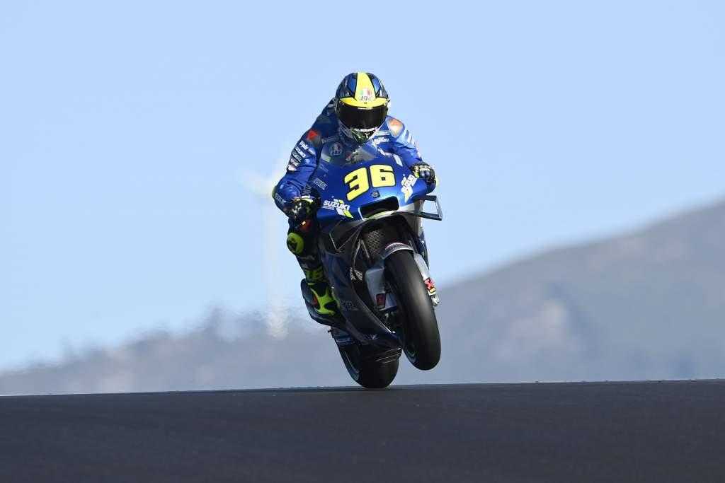 Joan Mir Suzuki Portimao MotoGP 2020