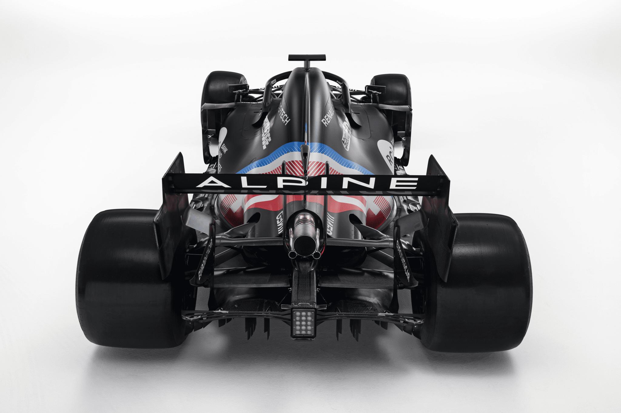 Alpine F1 interim livery