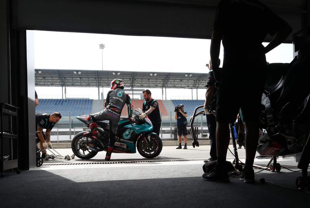 Fabio Quartararo Petronas SRT Yamaha Qatar MotoGP test 2020