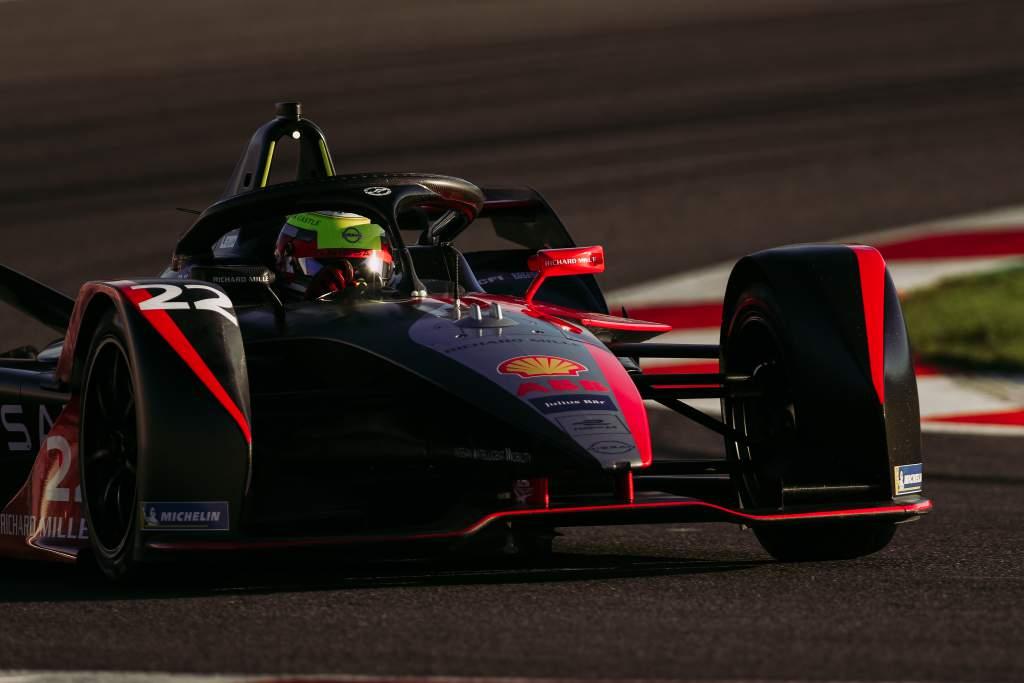 Oliver Rowland Nissan Valencia Formula E test 2020