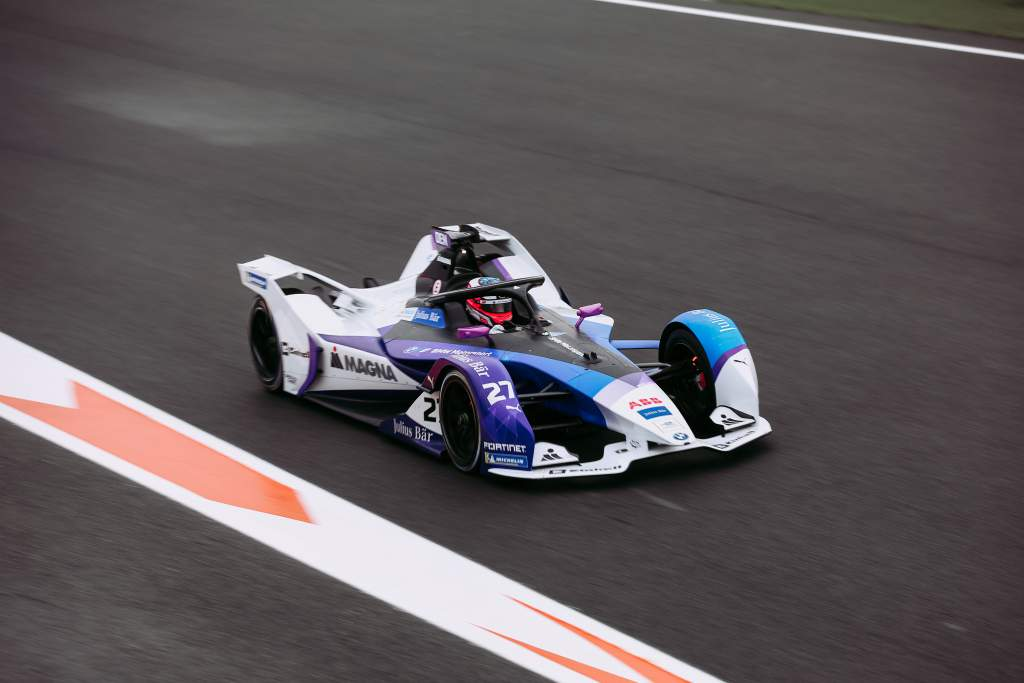 Jake Dennis BMW Valencia Formula E test 2020