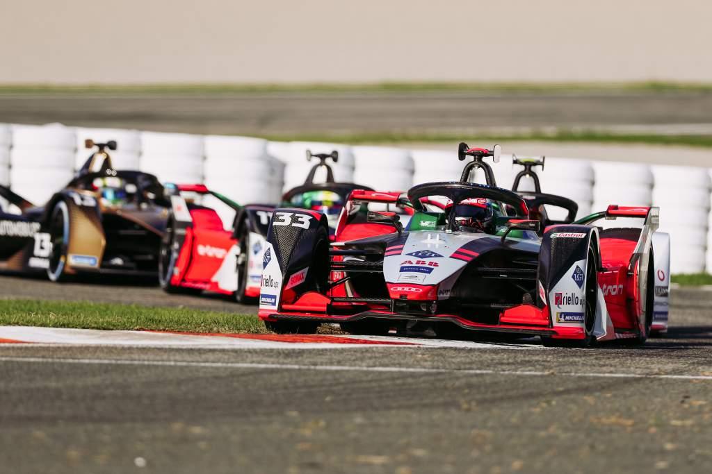 Rene Rast Audi Valencia Formula E test 2020
