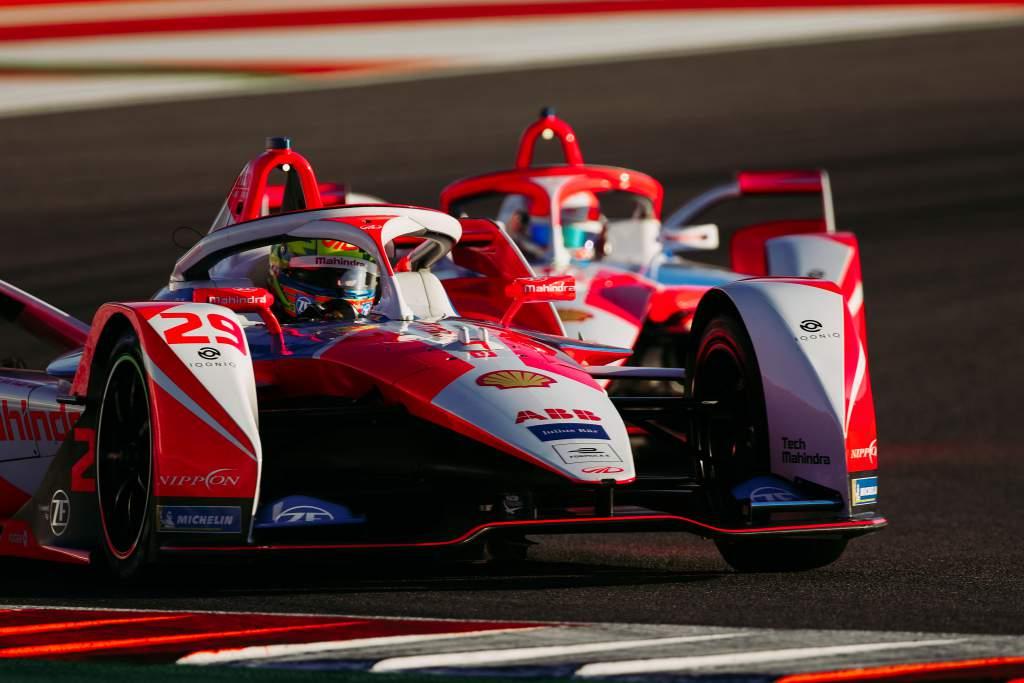 Alex Lynn Mahindra Valencia Formula E test 2020