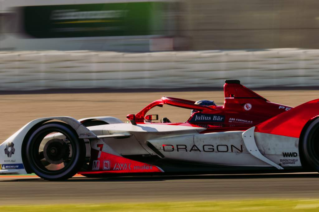 Sergio Sette Camara Dragon Penske Autosport Valencia Formula E test 2020