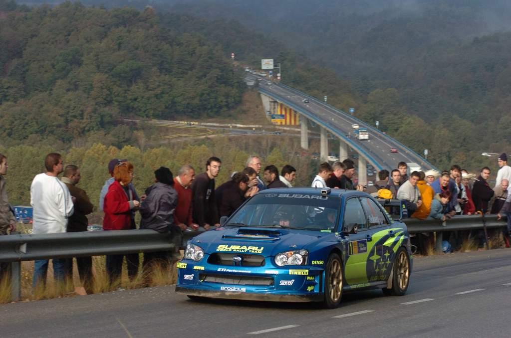 Petter Solberg Subaru WRC Catalunya 2003