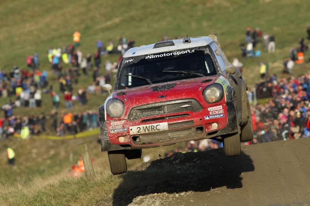 Kris Meeke Mini WRC GB 2011