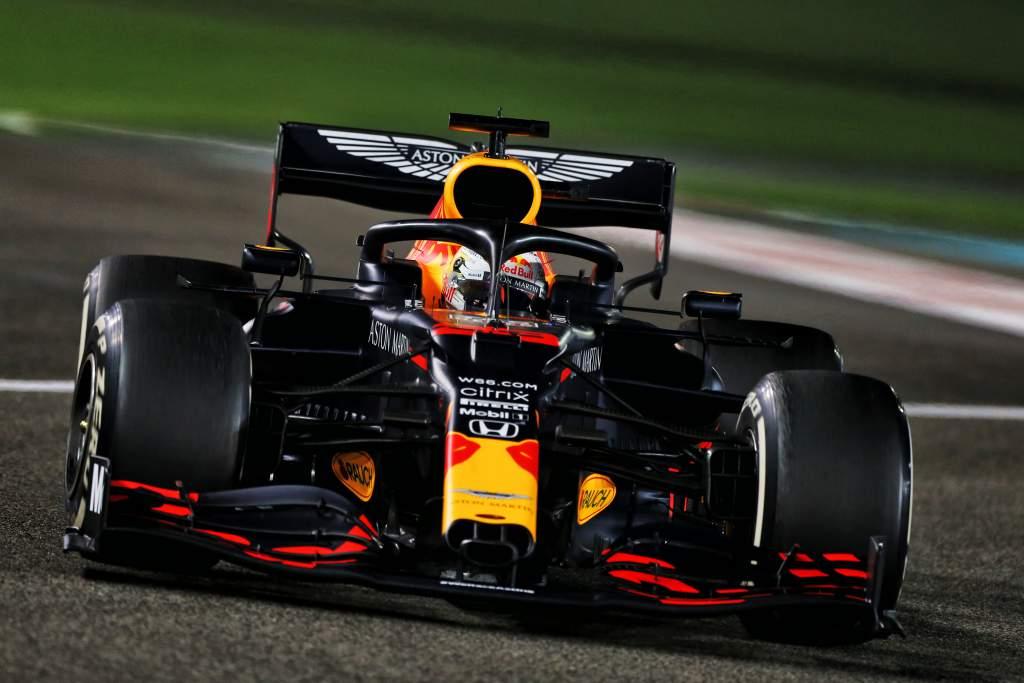 Max Verstappen Red Bull F1 2020