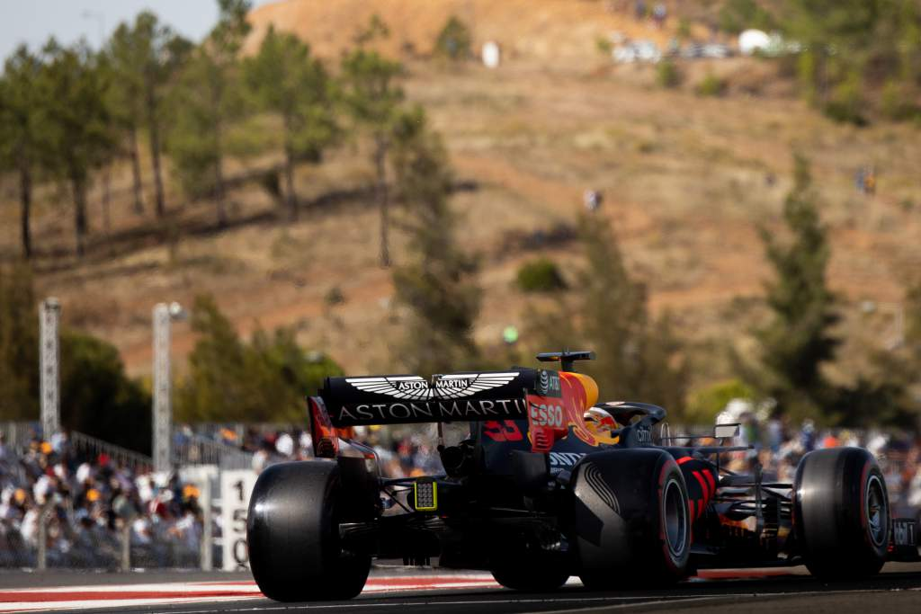 Motor Racing Formula One World Championship Portuguese Grand Prix Qualifying Day Portimao, Portugal